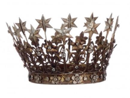 Corona envejecida metal