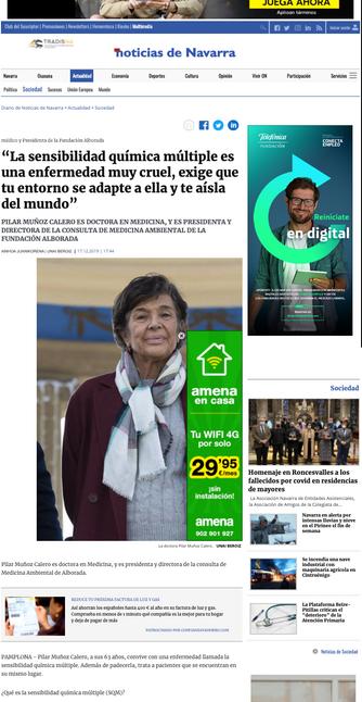 Noticias de Navarra. Dic. 2019