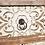 Thumbnail: Mesilla de noche blanco rozado 45 X 26 X 69 cm