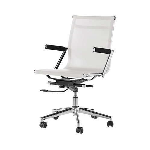 Silla oficina Zeta blanco o negro