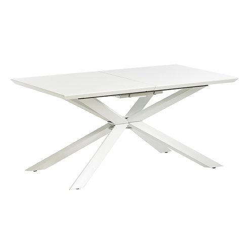 Mesa de comedor extensible 160-200 x 90 x 76 cm