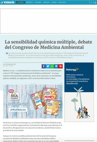 La Información. Nov. 2013
