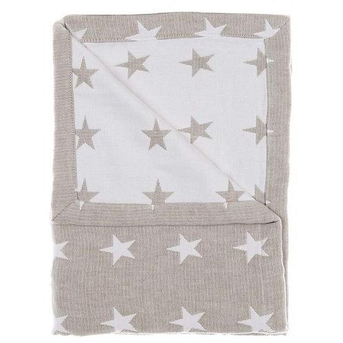 Colcha con estrellas tamaños cuna, cama niño y cama individual