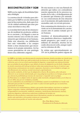 Bioconstrucción y S.Q.M. Libro