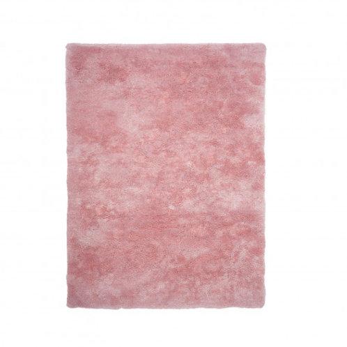 Alfombra Obsession rosa, beige o azul petroleo varios tamaños
