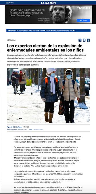 La Razón. Feb. 2020
