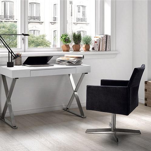 Mesa de despacho/escritorio Cruz blanca 120x75x55 cm