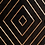 Thumbnail: Mueble TV marrón/oro 120 X 40 X 54 CM