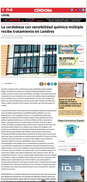 Diario de Córdoba. Jul. 2011