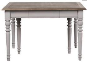 Mesa de comedor madera extensible 120-312 (2 colores)