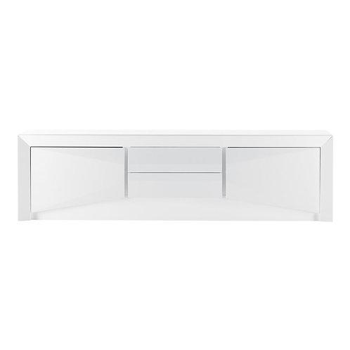 Mueble TV blanco 200 x 55 x 46 cm