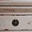 Thumbnail: Mesilla de noche 4 cajones crema rozado/rojo 50 x 38 x 60 cm