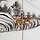 Thumbnail: Mueble TV negro/blanco oriental 180 X 40 X 60 CM