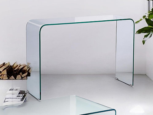 Consola transparente 110 x 35 x 75 CM.