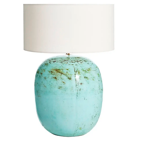 Lámpara sobremesa terracota 45x45x82 cm. varios colores