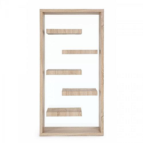 Elemento divisorio/librería 90x35x180 cm madera o blanco