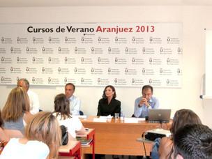 Marilé Zaera imparte clases de RRPP en la Universidad Juan Carlos I de Madrid.