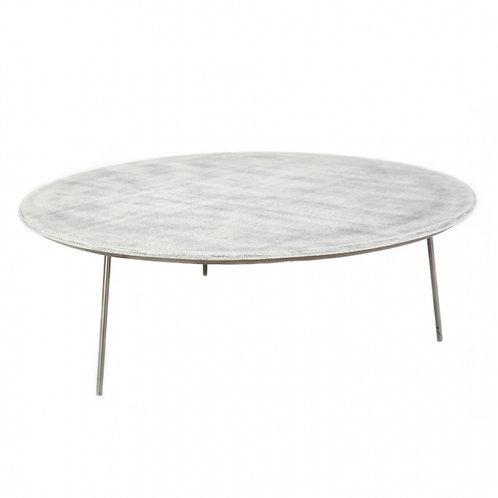 Mesa de centro nórdica redonda 102 x 35 cm