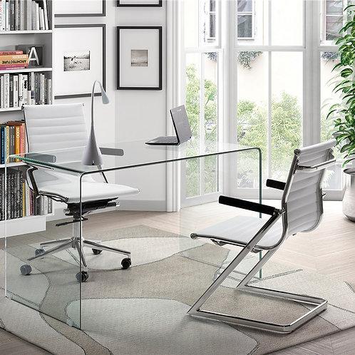 Mesa despacho/escritorio transparente