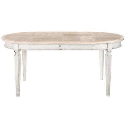 Mesa de comedor madera envejecida 2 tamaños