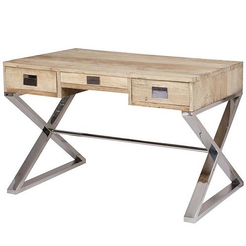 Mesa de despacho/escritorio Olmo reciclado 130*60*75 cm