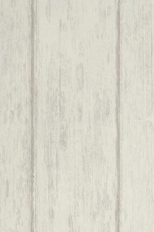 Papel Saint Honoré Sandía 5 imitación tablones de madera blanco