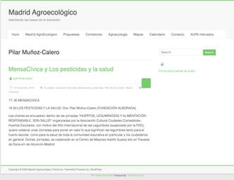 Madrid agroecológico. Dic. 2016