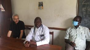 Visite de Pasteur Jürg Pfister Directeur de SAM Global au CHRS Macenta