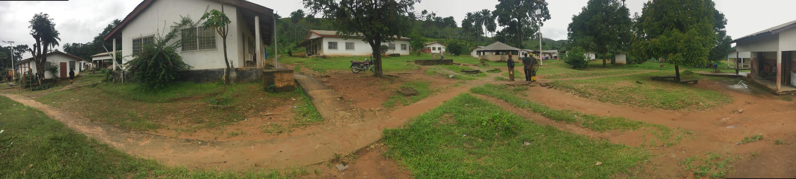 Le terrain au bâtiment pour le traitment du VIH / SIDA (V)