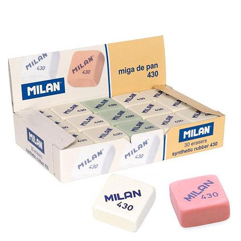 Cajas de gomas de borrar Milan 430