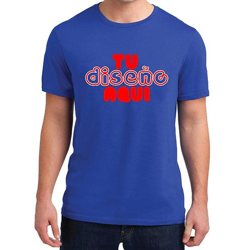 Camiseta personalizada en Serigrafia de Alta Calidad, paq. min 25 unidades