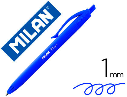 MILAN Boligrafo milan p1 retractil 1 mm touch