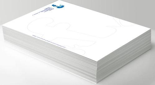 Hoja de carta DIN A4