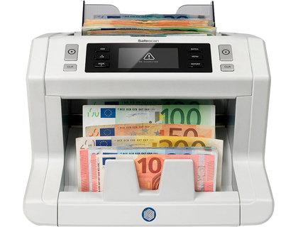 Detector contador de billetes falsos safescan 2665s 7 puntos de verificacion fun