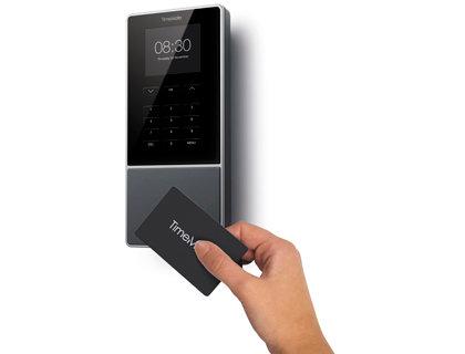 Controlador de presencia safescan timemoto tm-616 con codigo pin o tarjeta rfid