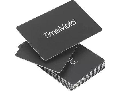 Tarjetas rfid safescan timemoto rf-100 pack de 25 unidades.