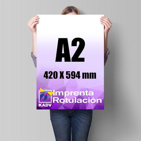 Poster 42x59,4 cms (A2), 2 unds.