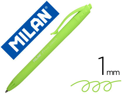 MILAN Boligrafo milan p1 retractil 1 mm touch colores pastel