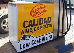 Surtidor gasolinera personalizado