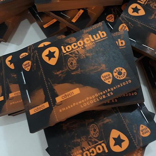 Tickets de consumición personalizados/Talonarios de 100 numeros