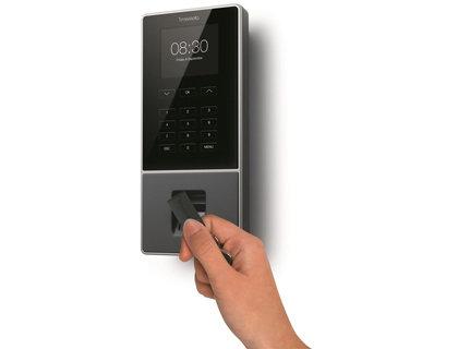 Controlador de presencia safescan timemoto tm-626 con codigo pin tarjeta rfid o