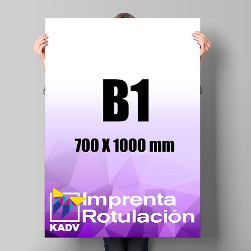 Poster 70x100 cms (B1), 20 unds.