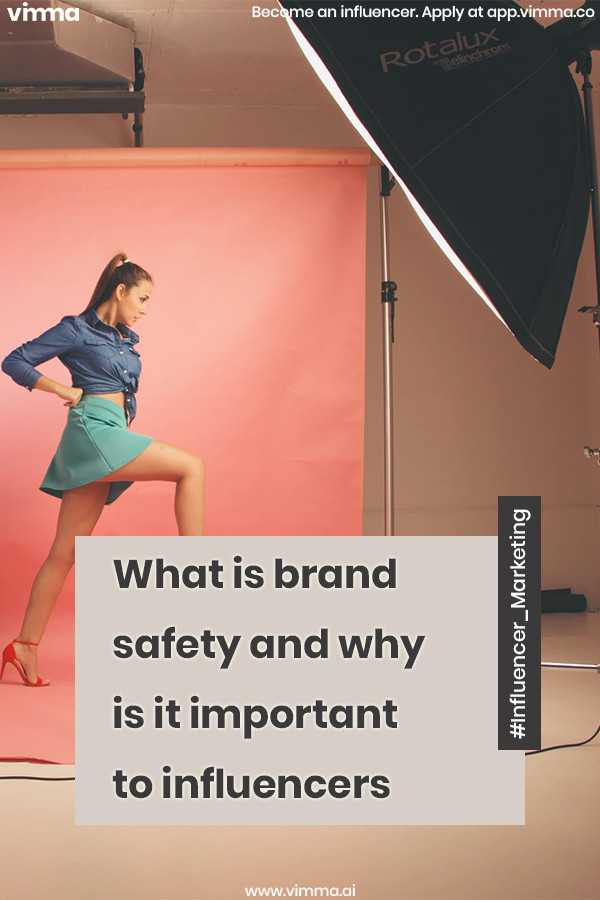 What is brand safety and why is it important to influencers
