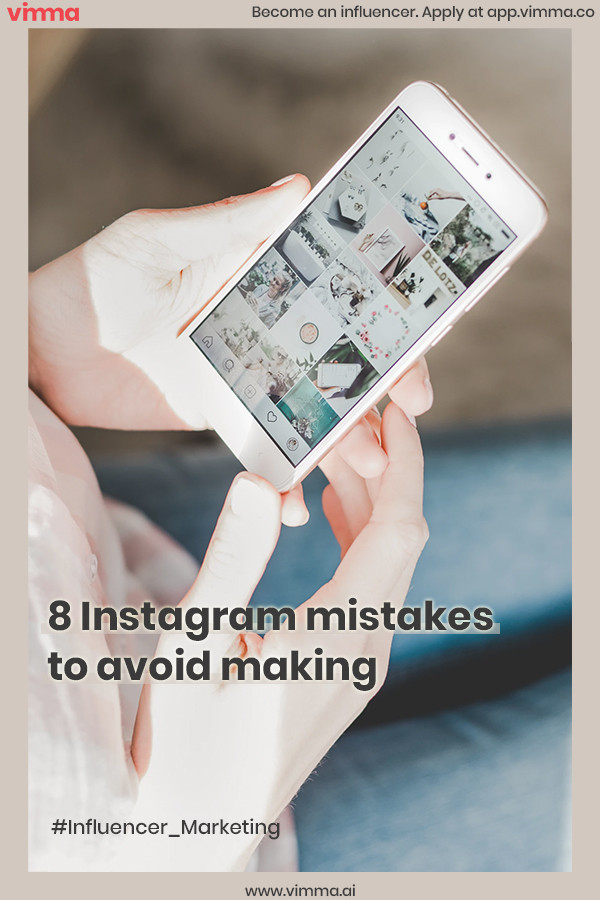 8 Instagram mistakes to avoid making with your Instagram account