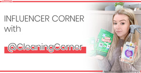 Influencer Corner with Cleaning Corner