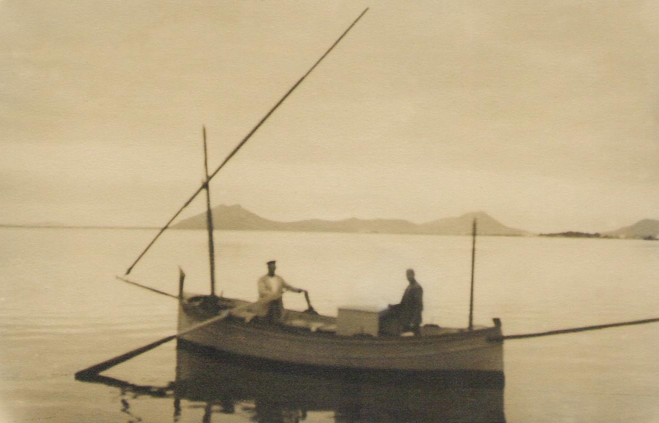 Llaüt escampavies, 1932. Gentilesa de Jesús M. Medel Soteras.