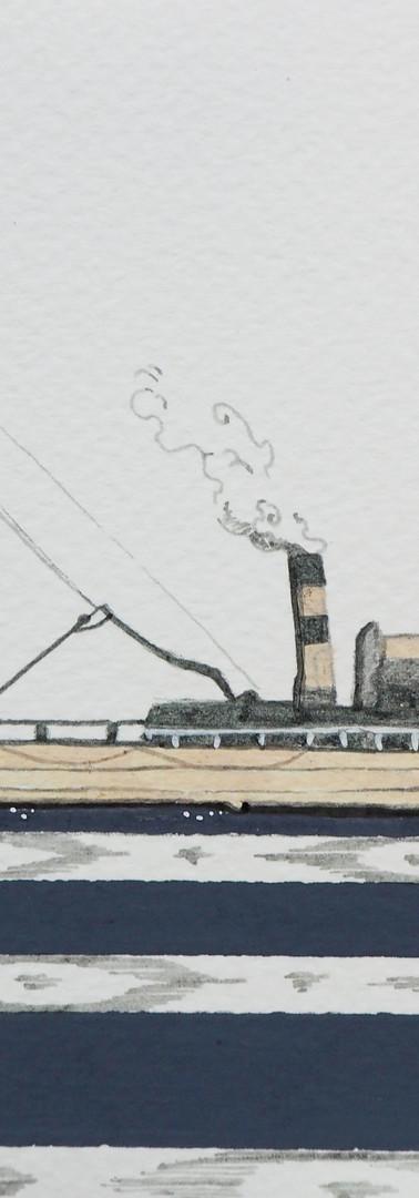 """Steamer """"Menorquin""""."""