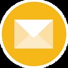 איור של סמליל מייל לי. מעטפת דואר בתוך ע