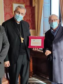Cerimonia di commiato a S.E.R. Mons. Giuseppe Satriano, Arcivescovo eletto di Bari-Bitonto