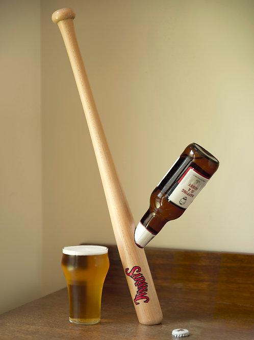 Baseball Bat Beer Bottle Holder